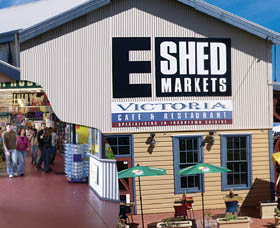 The E Shed Markets - Accommodation Australia