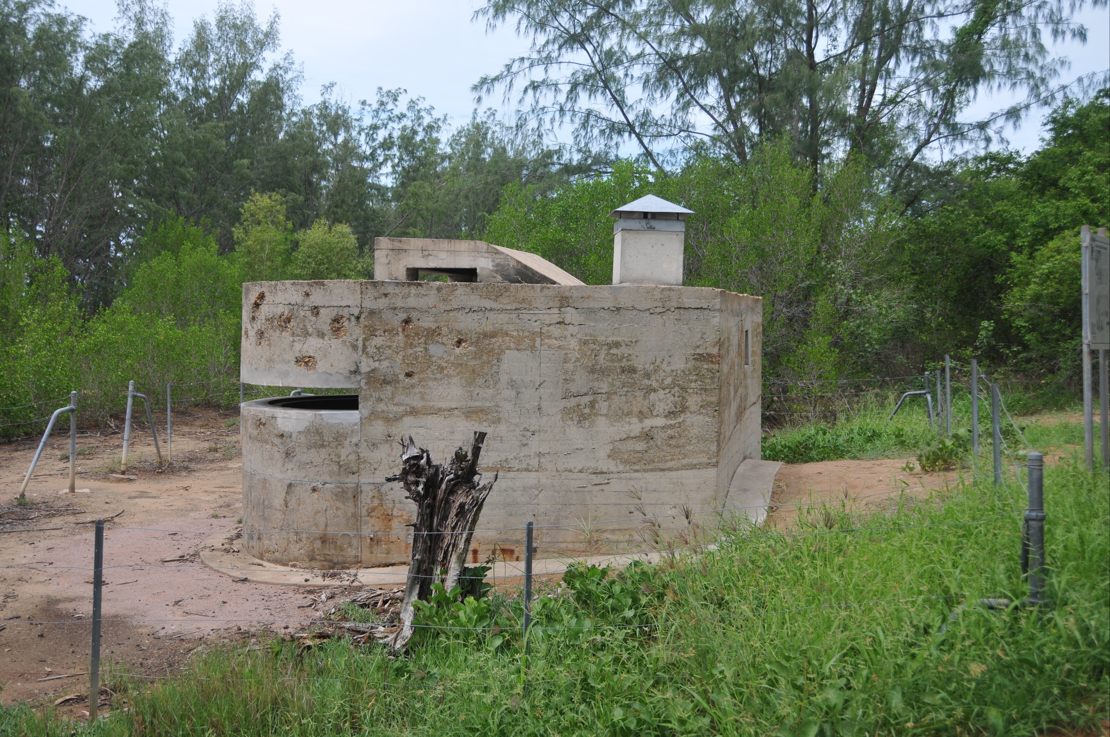 WWII Observation Post, Sandy Creek